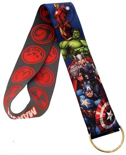 WDW Trading Pin Accessory - Lanyard - Marvel - Heroes and Villains - Reversible