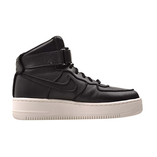 Nike Womens Dames Af1 Upstep Hi Pinnacle Sail / Black Leather Black