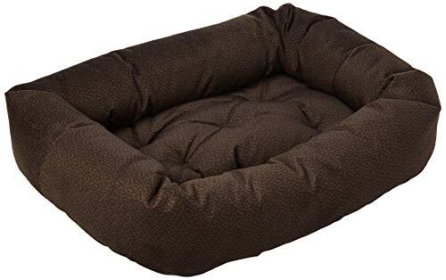 Donut Bed Chocolate Bones - Bowsers Donut Bed, Medium, Chocolate Bones