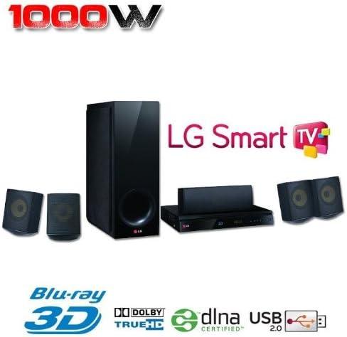 LG BH6730S - Home Cinema 5.1 (con reproductor de Blu-Ray 3D): Amazon.es: Electrónica