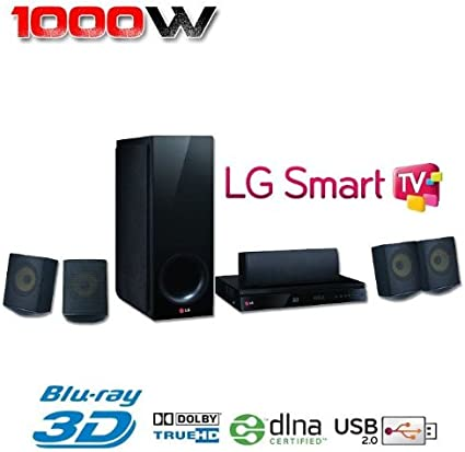 LG BH6730S - Home Cinema 5.1 (con reproductor de Blu-Ray 3D): Amazon.es: Electrónica