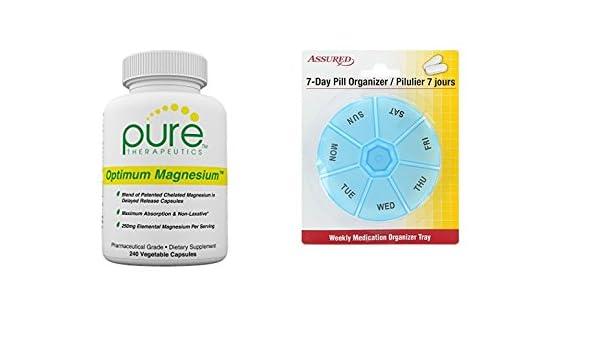 Amazon.com: Magnesio óptimo - Vcaps 240