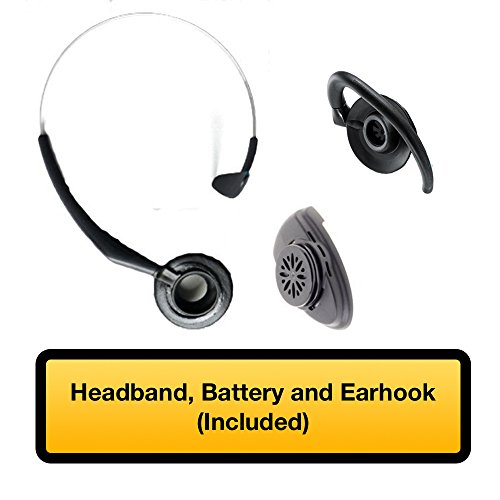 Mitel Cordless Headset and DECT Module Bundle, #50005712 | Mitel 5330e, 5340e and 5360e phones | Includes all accessories by Mitel (Image #4)