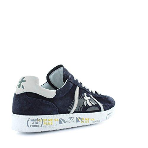 PREMIATA Zapatos de Hombre Zapatilla Andy 3103 Azul Primavera Verano 2018