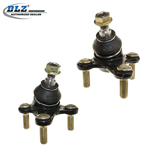 DLZ 2 Pcs Lower Ball Joint Compatible with 2006-2009 Audi A3 (Quattro) 2009-2013 Audi A3 Quattro AWD 2012-2014 Volkswagen Beetle 2007-2014 Volkswagen EOS 2010-2014 Volkswagen Golf K80662 ()