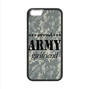 Best Custom Case ,Proud Army Girlfriend Apple iphone 6 4.7 TPU (Laser Technology) Case, Cell Phone Cover