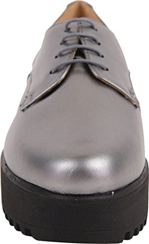 Andrea Nappa Leather Women's Oxford Pewter Ukies Metallic w5XqBPY