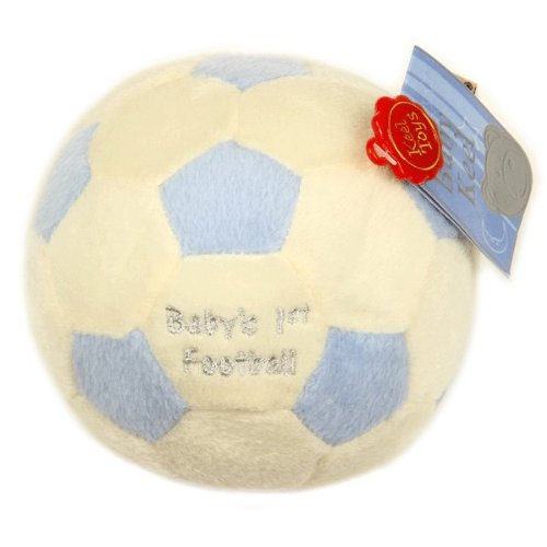 MaSaYa BACK IN! Lovely soft 12cm 'Baby's 1st Football' Fancy Classic Collection