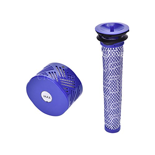 Clevalue Pre Filter + HEPA Post-Filter kit Replacement for D