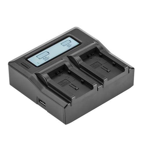 - Green Extreme Dual Smart Charger with LCD Screen for Canon BP-800 Series Batteries