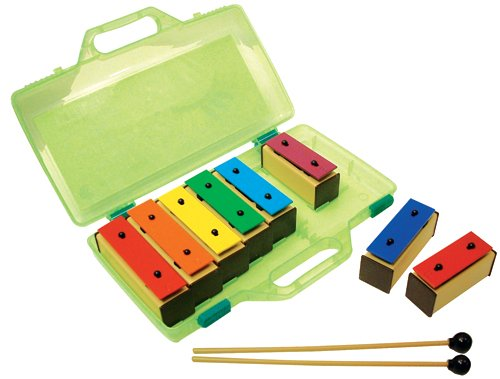 Basic Beat 8-note Resonator Bells with Case