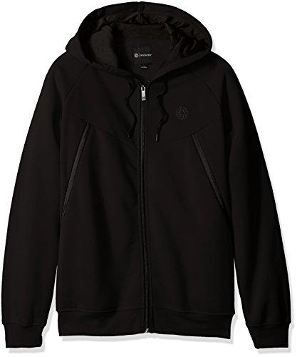 Akademiks Men's Avion Sweatshirt, Avion Black, LARGE