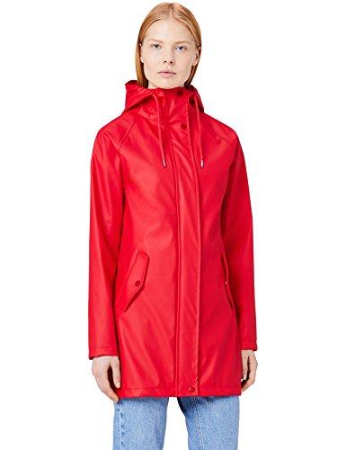 Women's MERAKI Hood MERAKI Hood Red Women's Red Raincoat MERAKI Women's Raincoat AIAS5wqxUP