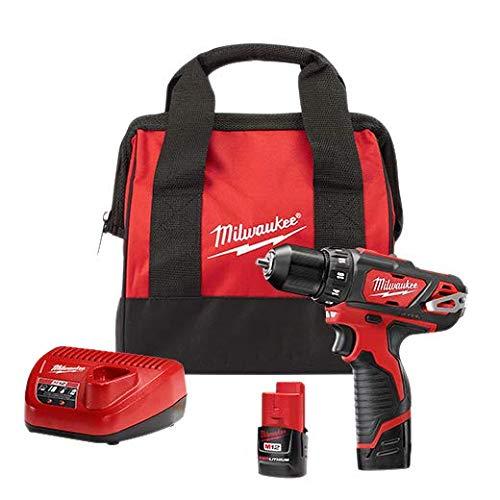 Milwaukee 2407-22 M12 3/8-Inch Drill/Driver Kit