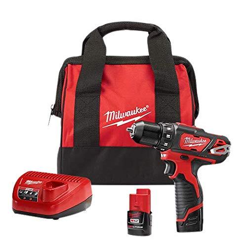 Milwaukee 2407-22 M12 3/8-Inch Drill/Driver Kit