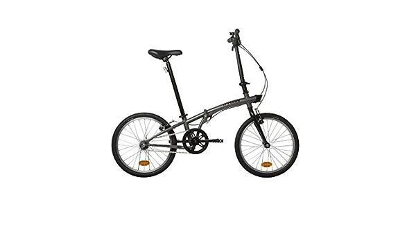 BTWIN,Bicicleta plegable,2017, Gris, Entrega 48 horas ...