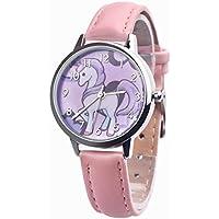Rainbow animal Kids Quartz Wristwatches Unicorn Watch