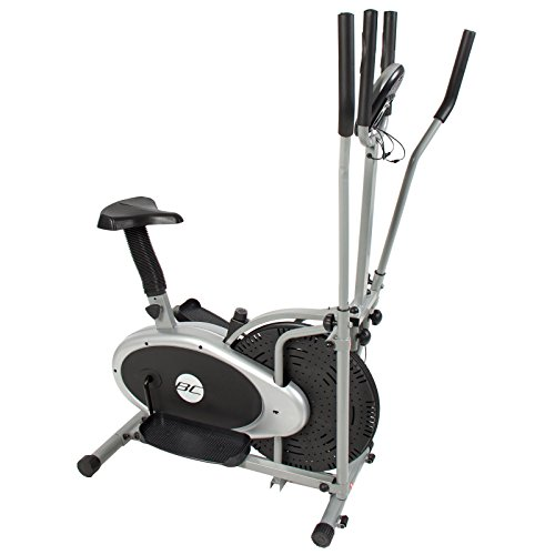 Eight24hours Elliptical Bike 2 IN 1 Cross Trainer Exercise Fitness Machine Upgraded Model by Eight24hours