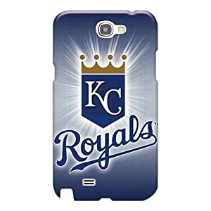 Excellent Hard Cell-phone Cases For Samsung Galaxy Note 2 (mQB14590oIgo) Provide Private Custom High-definition Kansas City Royals Pattern