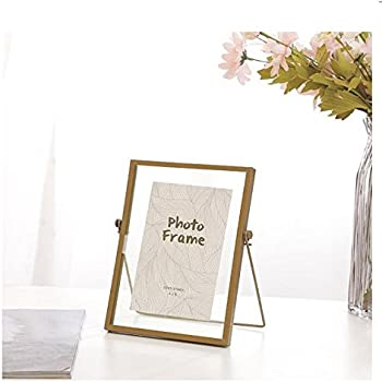 Amazon Com 4x6 Inches Free Standing Metal Photo Frame