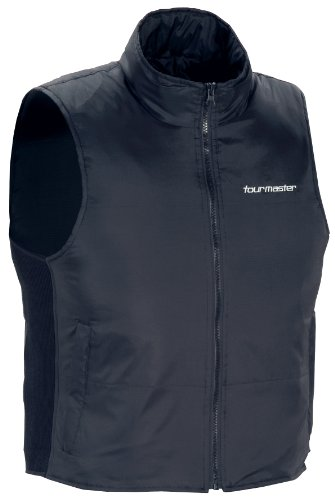 TourMaster Synergy 2.0 Electric Vest Liner with Collar (Medium, Black)