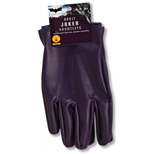 The Joker Adult Gloves Purple, One Size