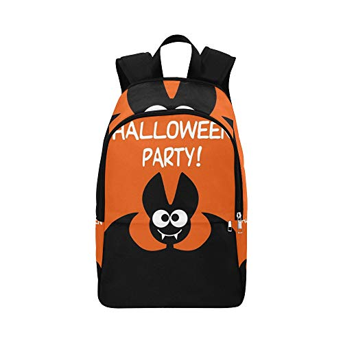 YSWPNA Halloween Party Idea Festive Printed Products Casual Daypack Travel Bag College School Backpack for Mens and -