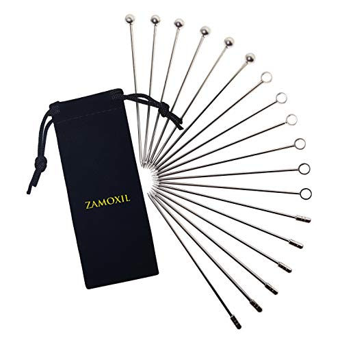 - Stainless Steel Cocktail Picks Set - 4