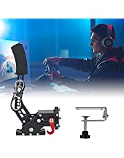 PaNt USB Handbremse PC Handbremse mit Tischklemme für Logitech G29/G25/G27 14 Bit Universal Hochpräzise Handbremse, Simulieren Lineares Bremsen, für PC Rennspiele, Echtes Drift Erlebnis