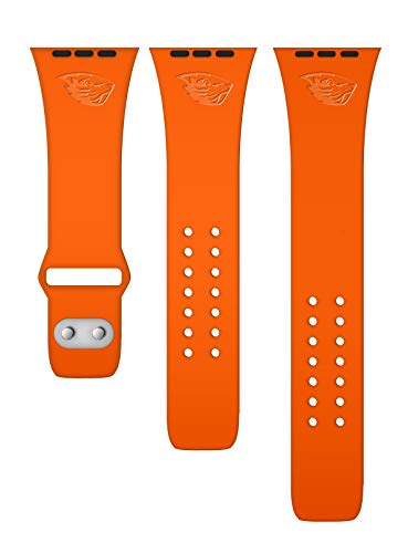 Affinity Bands Oregon State Beavers Debossed Silicone Band Compatible with The Apple Watch - 42mm/44mm
