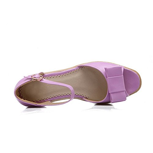 Adee - Sandalias de vestir para mujer morado