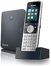 Yealink W53P VOIP Telefoon, Zwart, Zilver