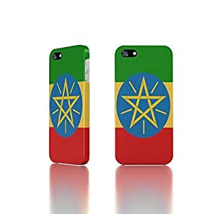 Apple iPhone 5 / 5S Case - The Best 3D Full Wrap iPhone Case - Ethiopia Flags