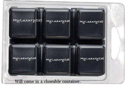 IRON OXIDE PACK of 6 - MATTE BLACK Color Cubes for Melt & Pour Soap DIY Colorant Tint Blocks MP Melted Bath Bar Dyes -