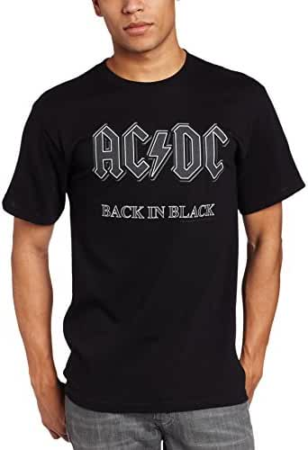 Impact Men's AC/DC Back In Black Short-Sleeve T-Shirt