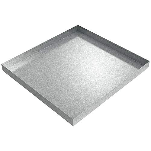 32 x 30 x 2.5 Galvanized Washing Machine Drip Pan