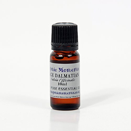 Mystic Moments Sage Dalmatian Essential Oil 100% Pure 10Ml