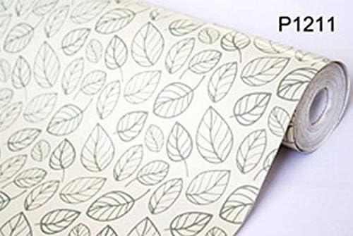【10M】p1211 白 フラワー 花柄リーフ パターン 壁紙 シール リフォーム 多用途 ウォールステッカー はがせる リメイクシート