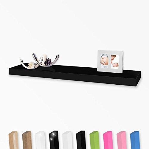 Wandboard, Farbe:schwarz;Länge:20cm