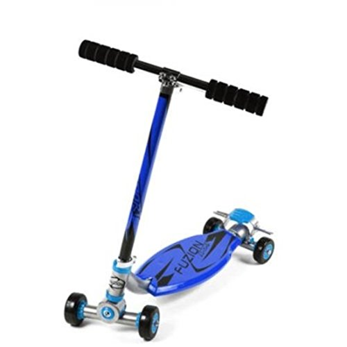 [Scooter Fuzion Sport 4-Wheel Carving for Kids] (Hockey Wheel Axle)