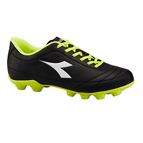 Diadora - Zapatillas de Material Sintético para hombre C3740 NERO/GIALLO