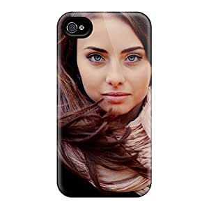 BretPrice Case Cover For Iphone 4/4s - Retailer Packaging Nadia Portrait Protective Case