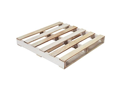 RetailSource 36'' x 36'' x 5 1/2'' #1 Recycled 1500 Lbs. Capacity Wood Pallet (Recycled Pallet Appearance May Vary) by RetailSource