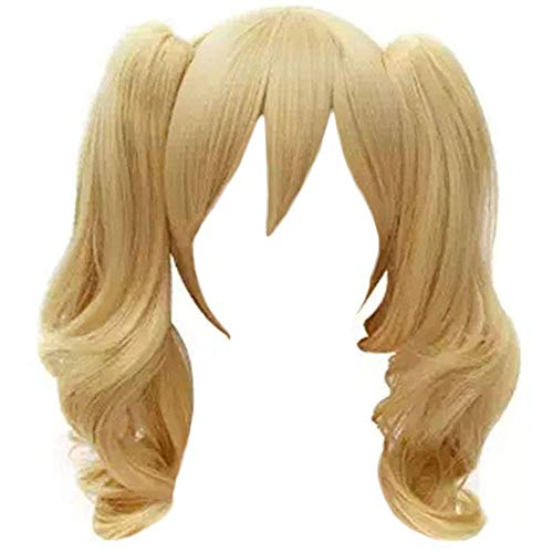 Anogol Blonde Fancy Dress Costume Wig Lolita Cosplay Wigs D0093