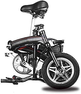 WULY Mini Coche eléctrico Plegable Bicicleta de Potencia para Adultos batería de Litio portátil batería Velocidad del Coche 25 km/h Carga máxima 90 kg: Amazon.es: Productos para mascotas