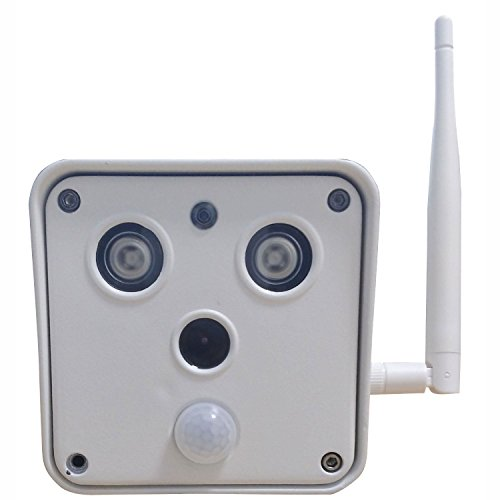 HD Indoor Outdoor Security IP camera Video Surveillance SD Card Recorder WiFi Wireless Home Business Remote View by PIXPO