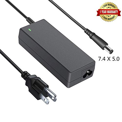 New 19.5V 3.34A 65W AC Adapter Battery Charger for Dell PA-12 Latitude-7480 5480 7280 5580 E6410 E6430 E6440 E7440 E7450 E7470 E5430 E5440 E5450 E5470 E7240 E7270 Laptop Notebook Computer Power Cord S ()