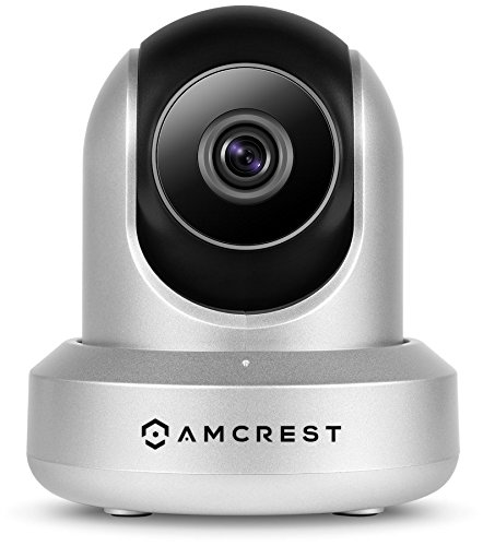 Amcrest Hdseries 720P Wifi Wireless Ip Security Surveillance Camera System Ipm 721S  Silver