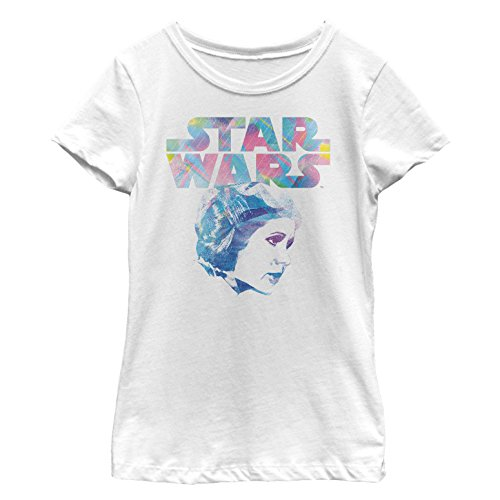 Star Wars Girls' Big, White//Leia pop, Small