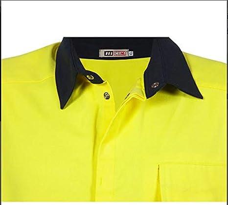 Camisa Ignífuga Bicolor -: Amazon.es: Ropa